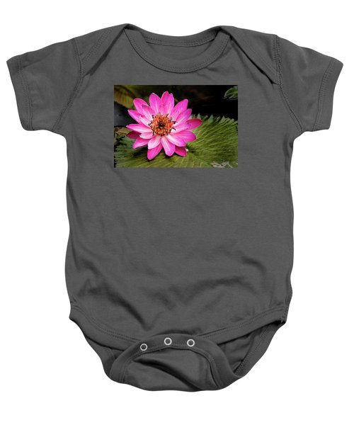 Carroll Creek Water Lily Baby Onesie