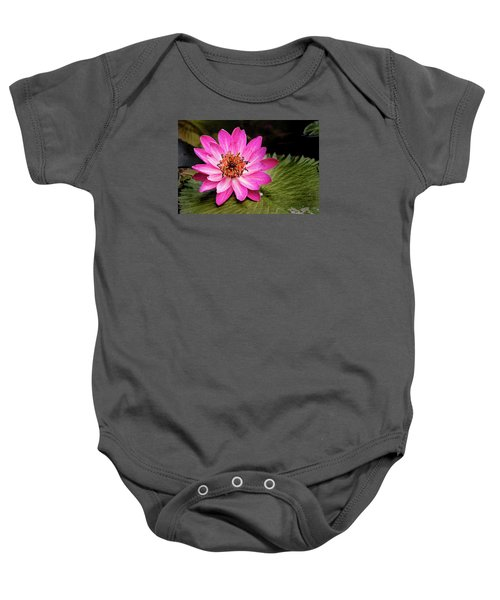 Carroll Creek Water Lily Baby Onesie
