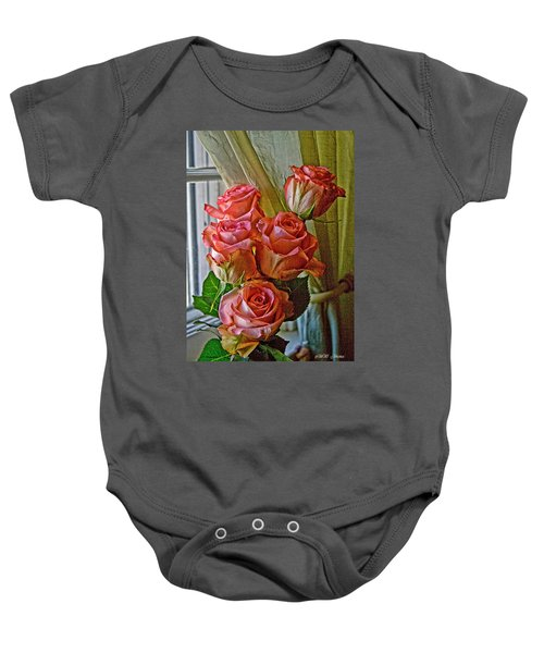 Cindy's Roses Baby Onesie