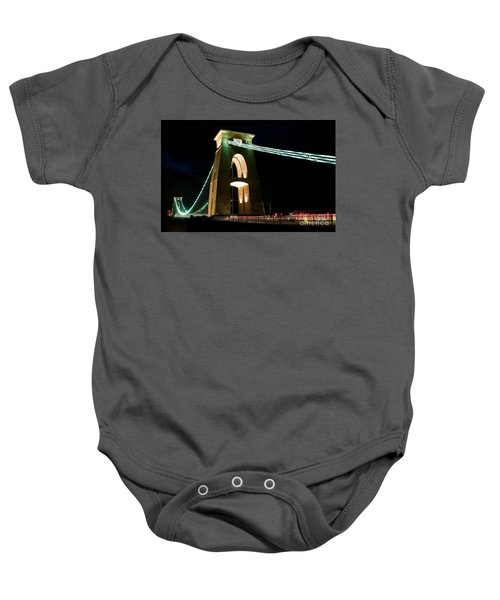 Clifton Suspension Bridge, Bristol. Baby Onesie
