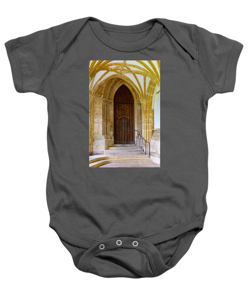 Cloisters, Wells Cathedral Baby Onesie