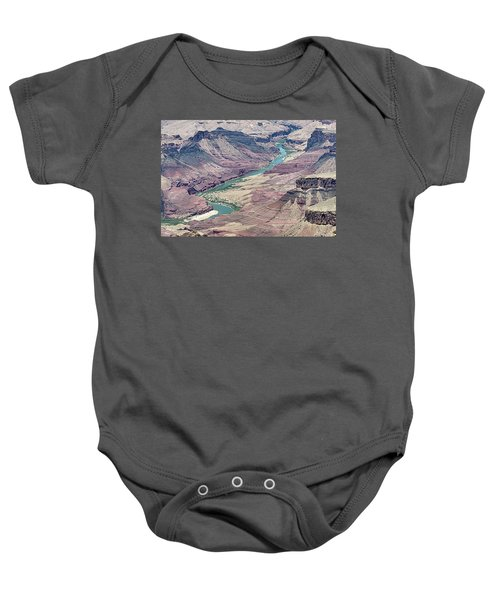 Colorado River In The Grand Canyon Baby Onesie