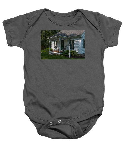 Come Sit On My Porch Baby Onesie