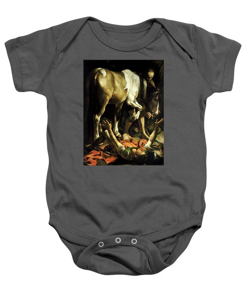 Conversion On The Way To Damascus Baby Onesie