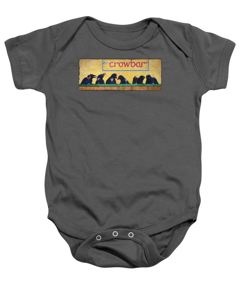 Crowbar Baby Onesie by Will Bullas