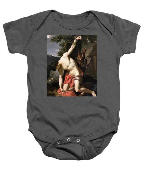 Death Of Saint Sebasian Baby Onesie