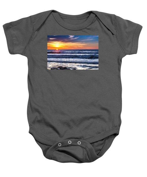 Sunset - Del Mar, California View 1 Baby Onesie
