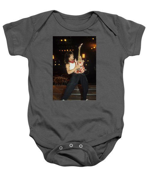 Eddie Van Halen Baby Onesie