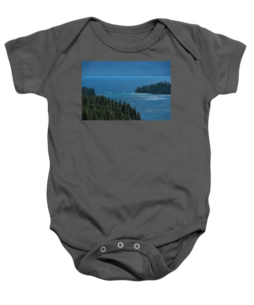 Emerald Bay Channel Baby Onesie
