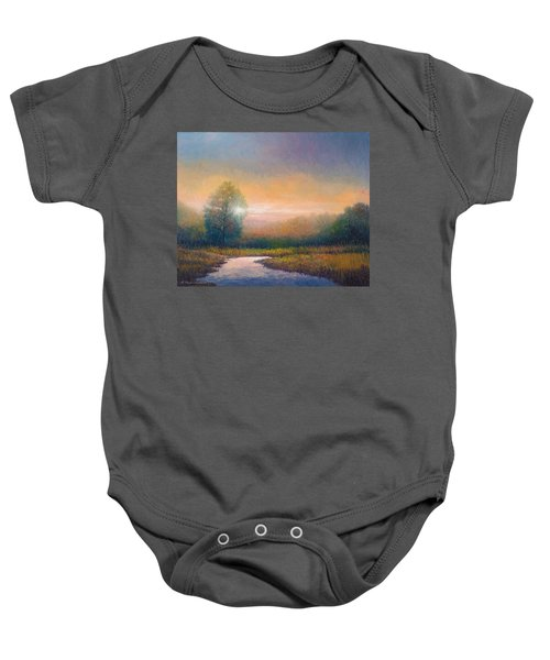 Evening Light Baby Onesie