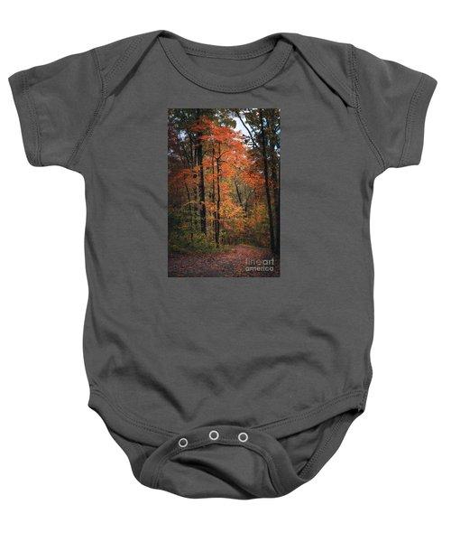 Fall In Arkansas Baby Onesie