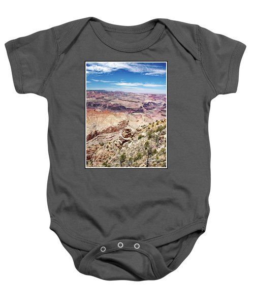 Grand Canyon View From The South Rim, Arizona Baby Onesie
