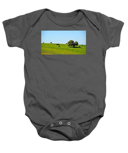 Grazing In The Grass Baby Onesie