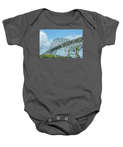 Harbor Bridge Baby Onesie