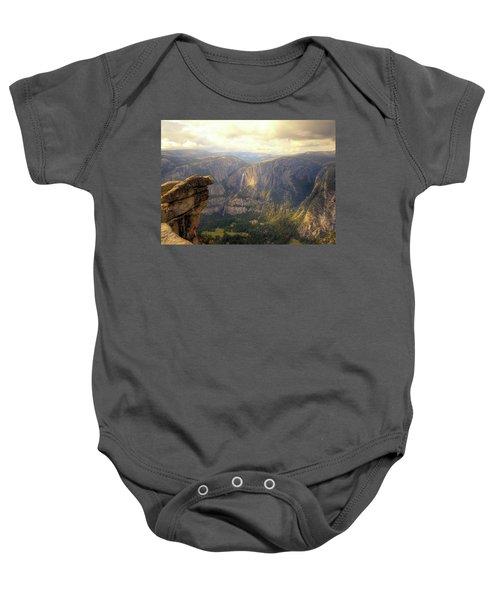 High Sierra Overview Baby Onesie