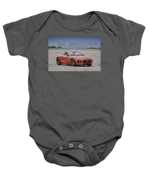 Jaguar F-type Convertible Baby Onesie