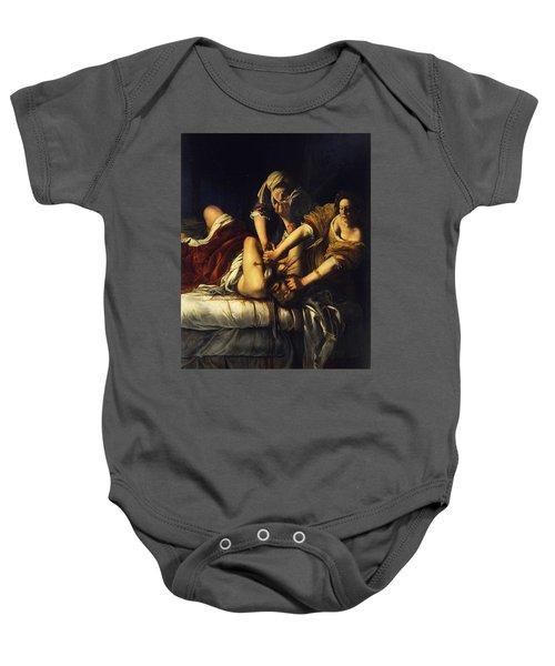 Judith Beheading Holofernes Baby Onesie
