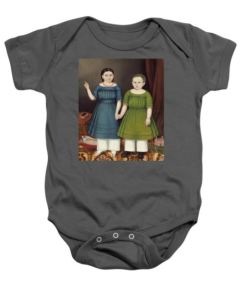Mary And Francis Wilcox Baby Onesie