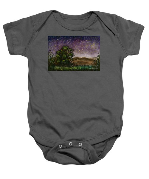 Midnight At The Oasis Baby Onesie