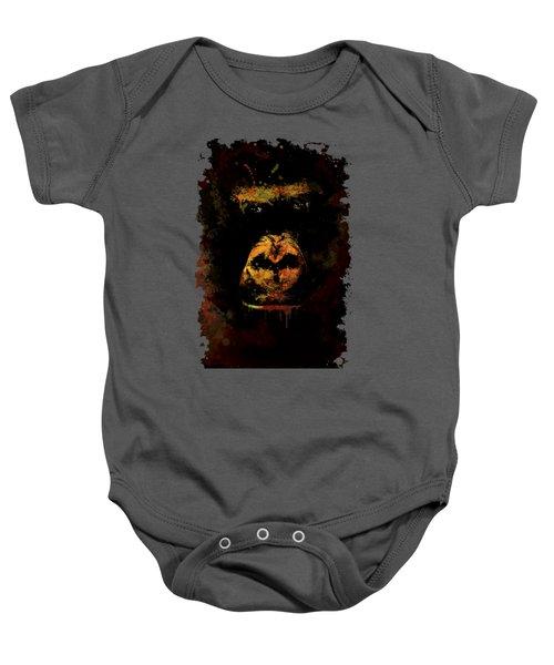 Mighty Gorilla Baby Onesie