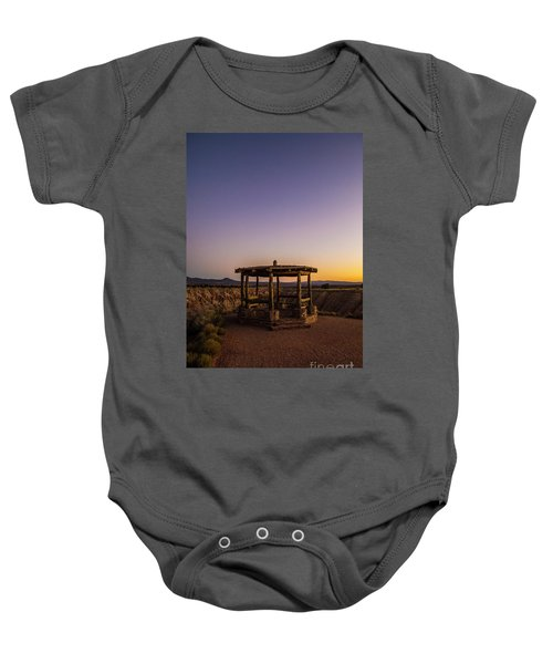 Cathedral Gorge Gazebo Baby Onesie