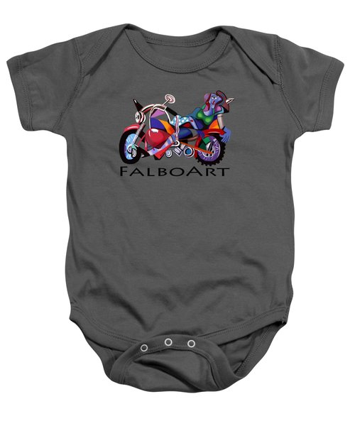 Motorcycle Mama Baby Onesie