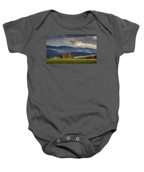 Mountain Weather Baby Onesie