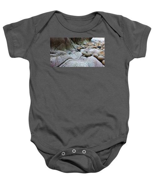 Nanven Rocks Baby Onesie