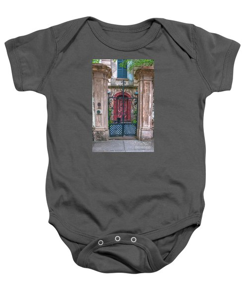 Narrow Is The Gate Baby Onesie