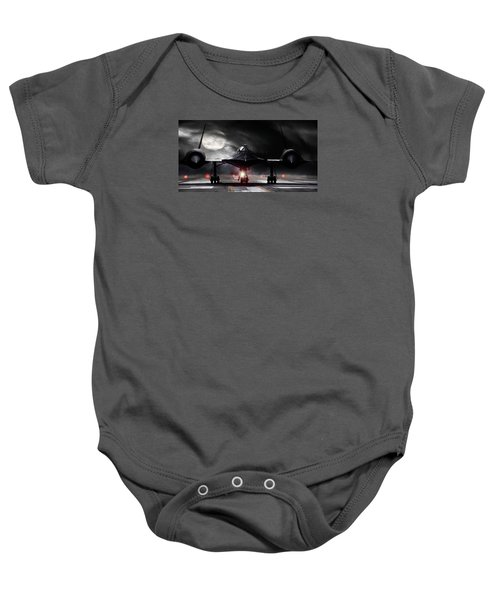 Night Moves Baby Onesie by Peter Chilelli