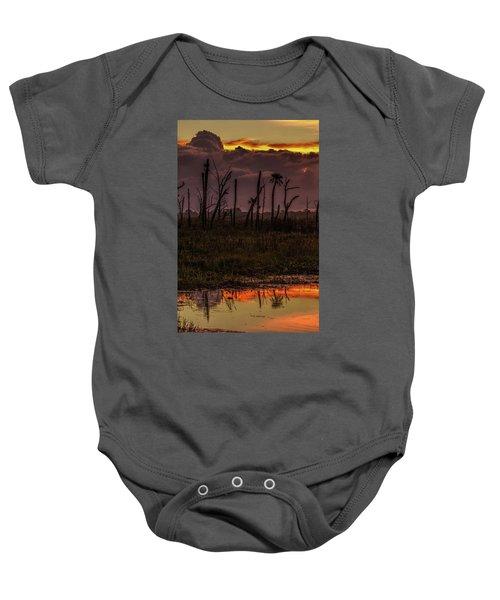 Orlando Wetlands Sunrise Baby Onesie