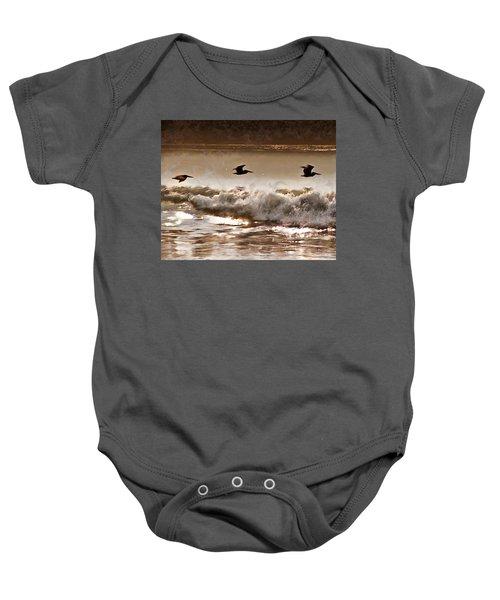 Pelican Patrol Baby Onesie