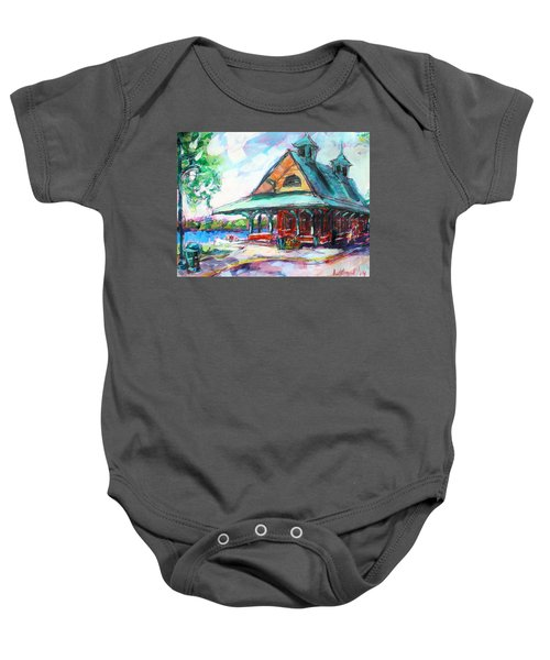 Pewaukee Depot Baby Onesie