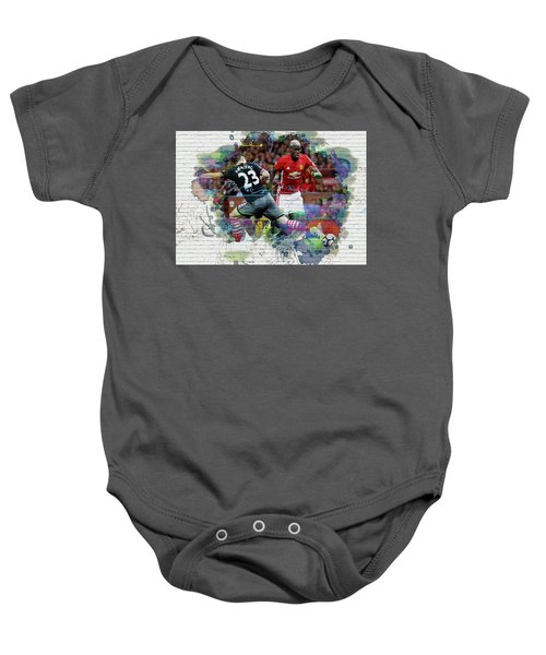 Pogba Street Art Baby Onesie by Don Kuing