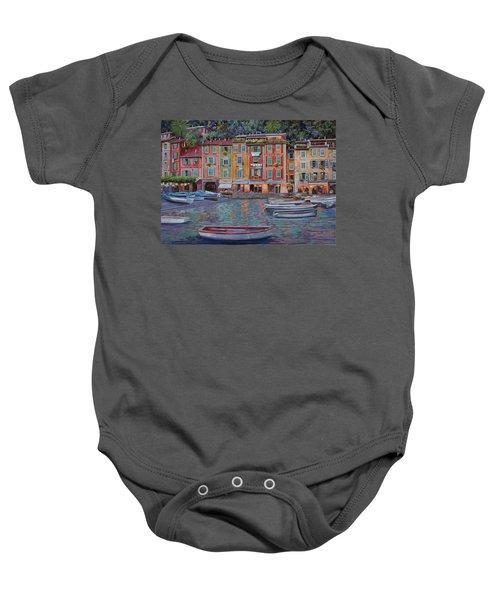Portofino Al Crepuscolo Baby Onesie