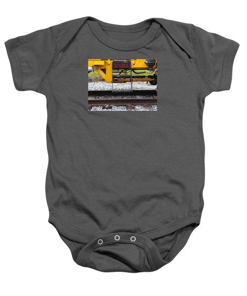 Railroad Equipment Baby Onesie