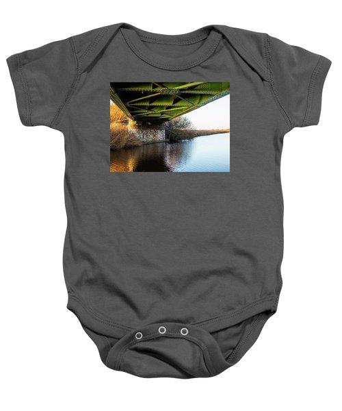Railway Bridge Baby Onesie