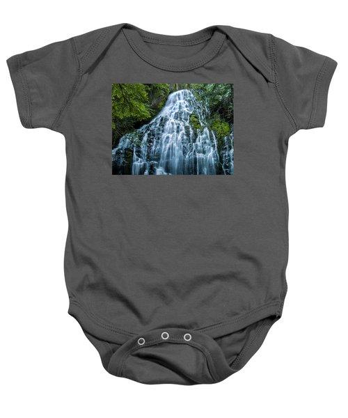 Ramona Falls Cascade Baby Onesie