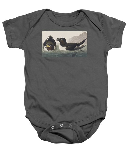Razor Bill Baby Onesie by John James Audubon