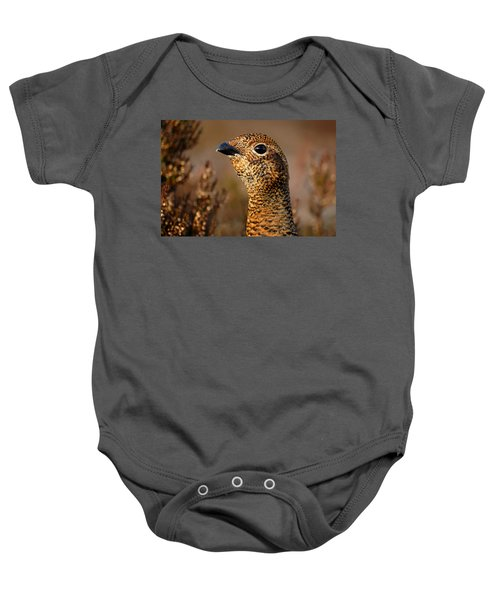 Red Grouse  Baby Onesie