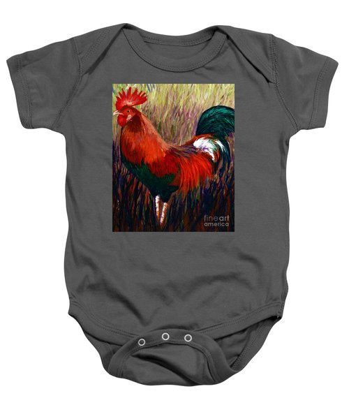 Rudy The Rooster Baby Onesie
