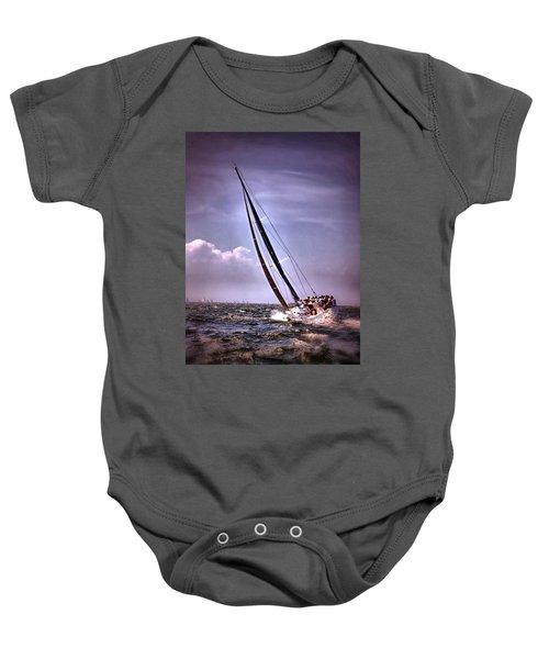 Sailing To Nantucket 003 Baby Onesie