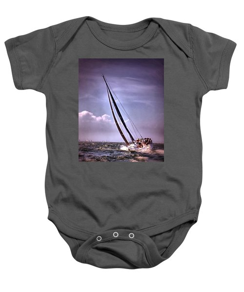 Sailing To Nantucket 003 Baby Onesie