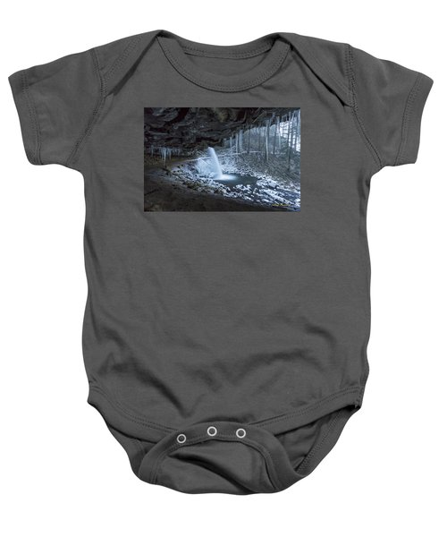 Sheltered From The Blizzard Signed Baby Onesie