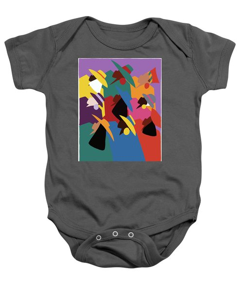 Sisters Of Courage Baby Onesie