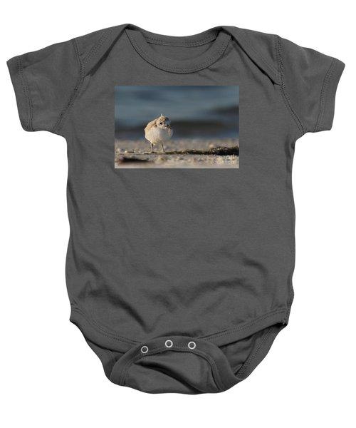 Snowy Plover Baby Onesie