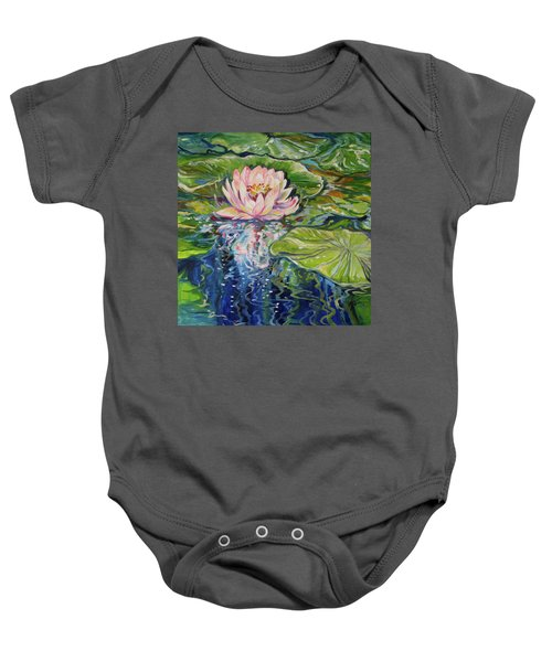 Solitude Waterlily Baby Onesie
