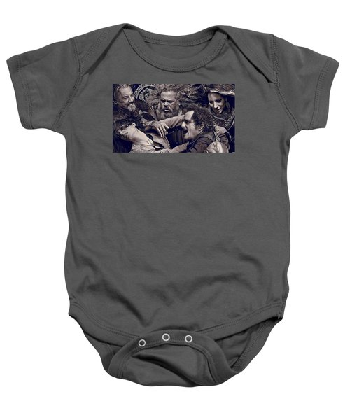 Sons Of Anarchy  Baby Onesie