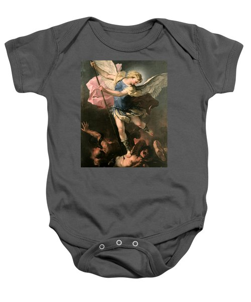 St. Michael Baby Onesie