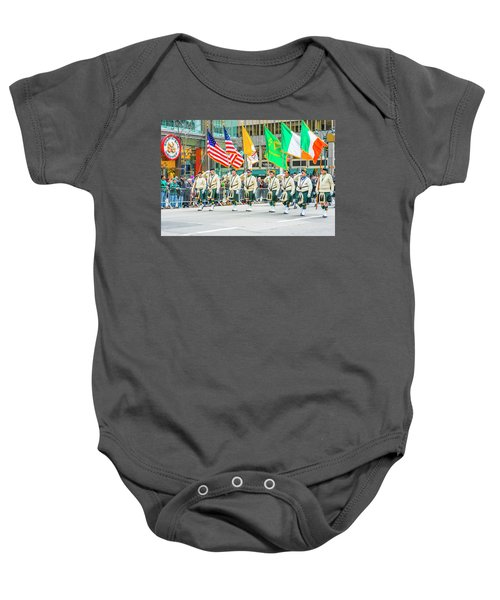 St. Patrick Day Parade In New York Baby Onesie